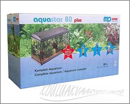 MP-AquaSTAR PLUS 80 akv.paketti 96L